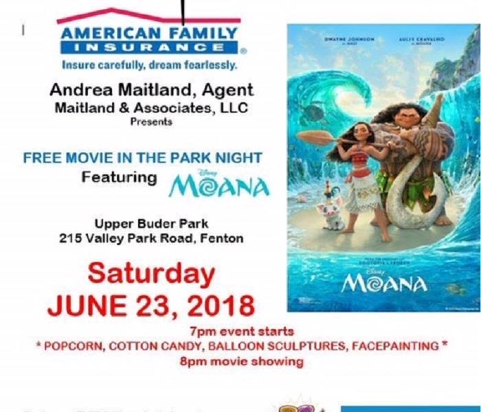Movie in the Park Night - Andrea Maitland