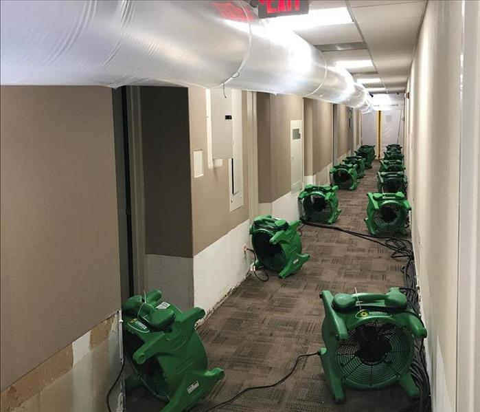 Commercial Installation of Air Movers